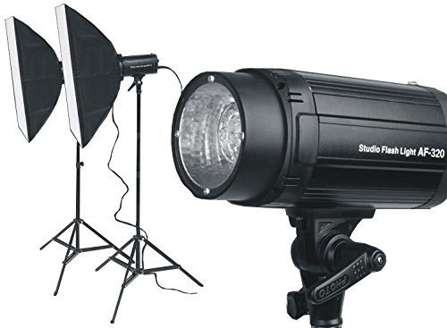 KamKorda Studio Lighting Kit - 2 Year Warranty